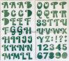 Scrapbooking와 Cardmaking를 위한 큰 알파벳 거품 스티커