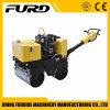 800kg Roue hydraulique à double tambour Walk Behind Vibratory Roller