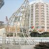 Asme aprobó la estructura del Tubo-Marco de la plaza de Macco Pujing