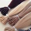Capelli russi della microperla capovolgo le estensioni dei capelli di Remy