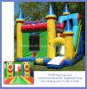 Corrediça inflável clássica do castelo combinado (BMBC233)