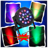 Hete 18W RGB DMX LED PAR Light