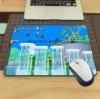 Анти- коврик для мыши задней части резины выскальзования с печатание нестандартной конструкции на поверхности ткани