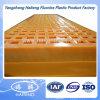 Painéis modulares da peneira do poliuretano/placa de peneira de esqueleto do plutônio para a classificação de minerais