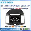 Audio radiofonico automatico DVD di Zestech per il sistema 2011 di percorso della Hyundai Elantra GPS