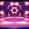P10 Video Full Color Light op Dance Floor LED Display Screen (iMagic-P10mm)