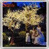 Albero di Natale artificiale del fiore di ciliegia dell'ornamento LED