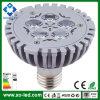 400 a 450 Lumens Morrem-Cast o diodo emissor de luz PAR30 Spot Lighting Bulb E27 de Aluminum 5W