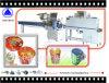 プラスチックはすくう自動収縮包装機械(SWC-590+SWD-2000)を
