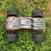 Brushless 1/10 Electric Metal Chassis Preto Body Hobby RC Car Model
