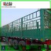 Der 3 Wellen-Viehbestand zäunen Ladung-LKW-Schlussteil für Verkauf ein