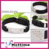 Silikon-Energie kundenspezifisches Armband (SB-0056)