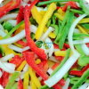 Vegetais misturados do Fajita de IQF na alta qualidade