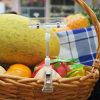 Grampos plásticos do sinal do PNF da loja da fruta