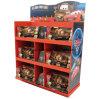 Présentoirs debout d'exposition de métier de jouets de gosses d'étage personnalisable de carton