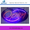 Le prix usine DEL ovale signe le signe lumineux et électronique superbe