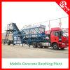 35m3/H mobiele Concrete het Groeperen Installatie voor Verkoop