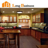 Glasses (LB-DD1005)를 가진 단단한 Wood Kitchen Furniture