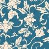 Impression 1201 de Digitals de tissu en soie de mode