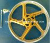 Disco accesorio del frente del borde de la rueda de la aleación de la motocicleta