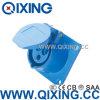 Гнездо Qixing Cee/IEC установленное панелью прямое (QX-313)
