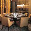 Figura rotonda della Tabella del ristorante della mobilia dell'impiallacciatura per l'hotel