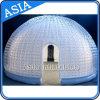 Globo di nevicata gonfiabile di vendita calda, cupola della sfera di esposizione di natale, sfera gonfiabile della neve
