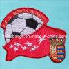 Applique를 위한 주문을 받아서 만들어진 Football Embroidery Patch