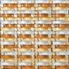 مربّعة رخام وخضوع فسيفساء زجاجيّة لأنّ مطبخ جدار حافة ([م855041])