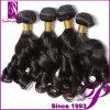 Выдвижение волос путать свободно двойное Weft естественное черное перуанское