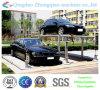 簡単な持ち上がるタイプ2つの層の車の駐車装置