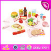 2014 Wooden novo Toy Educational Toy para Kids, Popular Wooden Pretend Toy para Children, Role Play Toy Lunch Toy para Baby Factory W10b022