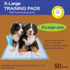 60cm x 60cm Puppy Training Pads für Puppies und Indoor Dogs (6060-8)