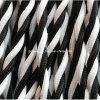 Black/White 3 Leider doek-Behandelde Draad (UL/VDE)
