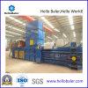 Horizontal automática de papel cartón Baler para la fábrica de papel