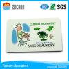 Carte de visite professionnelle lustrée de nom/visite de PVC d'impression en plastique de 4 couleurs