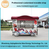 Reboque móvel feito sob encomenda da restauração do caminhão do alimento