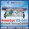 Печать винила Versacamm Vs-640I Рональд и отрезанный прокладчик