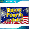 90*150cm bandeira feriado poliéster americano bandeiras felizes do 4° de julho (J-NF05F09407)