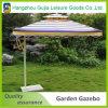Paraguas al aire libre grande cuadrado de acero al por mayor del jardín para la venta