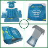 Коробка ботинка нестандартной конструкции бумажная упаковывая (FP200095)