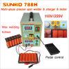carregador de bateria 110V do teste do soldador do ponto da bateria 788h 220V 0.2mm para o bloco da bateria