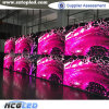 Afficheur LED ouvert du Module P8/P10 de fer d'avant polychrome de SMD pour la publicité