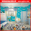 Papel de empapelar para adornar el dormitorio, papel pintado grabado PVC, papel pintado Wallcovering del brillo
