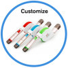 TPE-flache Daten, die Synchronisierung Mikro-USB-Kabel für Handys aufladen