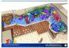 Equipamento submarino do campo de jogos com combinação da corrediça