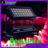 DMX 옥외 36X10W RGBW 4in1 LED 벽 세탁기