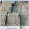 Yellow naturel Granite Mushroom Stone pour Wall Cladding