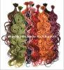 Vari coloriu extensão Pre-Ligada do cabelo humano de Remy da ponta da ponta U do prego