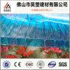 Bayer-Materialien blaues Doppel-Wand Polycarbonat-Höhlung-Blatt 100% für Markise